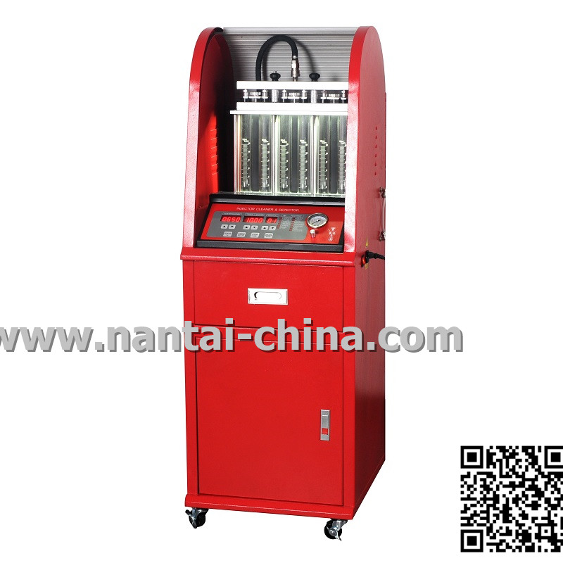 QCM200-6T  6T Fuel injector tester and cleaner with build in ultrasonic bath