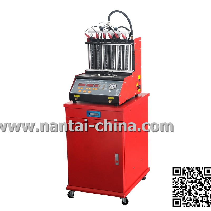 QMC200-6D Manual Fuel Injector Clean machine & Analyzer